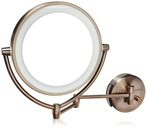 Product  Ovente MLW45AB. Best Lighted Makeup Mirror Reviews 2017