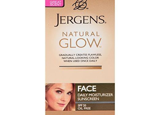 Jergens Natural Glow Daily Face Moisturizer Review