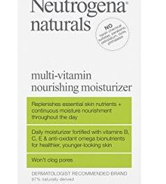 Neutrogena Naturals Multi-Vitamin Nourishing Face Moisturizer Review