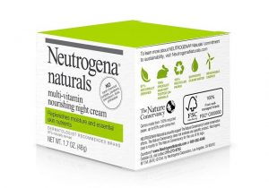 neutrogena naturals night cream
